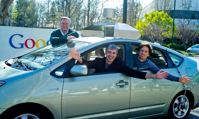 vehiculo autonomo google