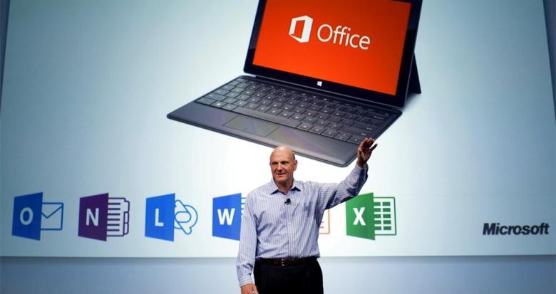 Ballmer Office 2013 - ¿Tiene sentido la reestructuración de Microsoft sin la salida de Steve Ballmer?