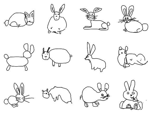 Reconociemiento de patrones en bocetos