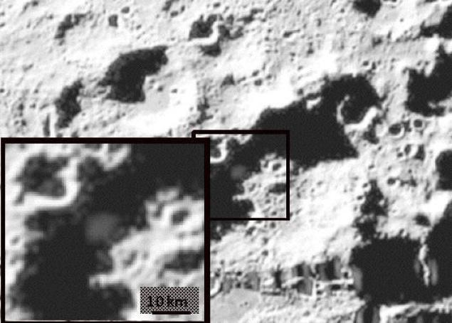 Viento solar como fuente de agua en la Luna