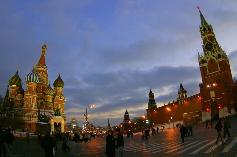 Plaza Roja, Moscú