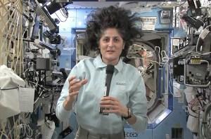 Sunita Williams desde la ISS