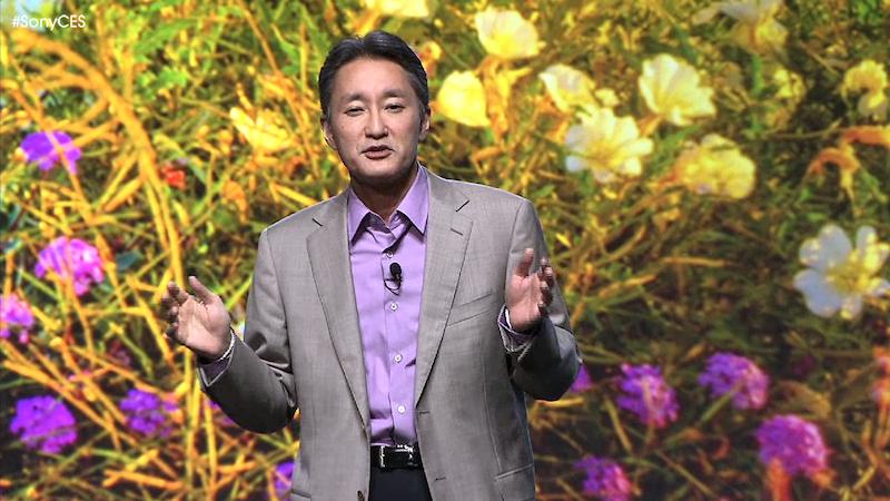 Kazuo Hirai CES 2013