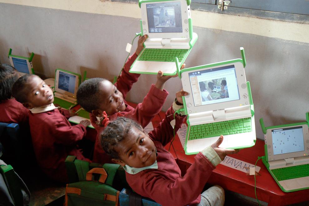 Computer Camp at Lova Soa School OLPC