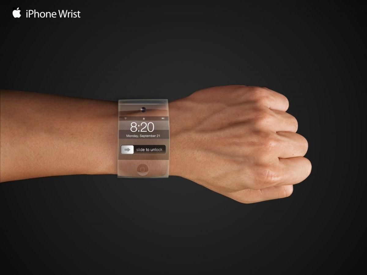 iWatch, ¿un reloj de pulsera de Apple?