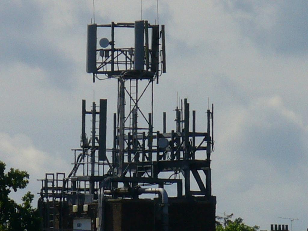 Estaciones base - red de telefonía móvil