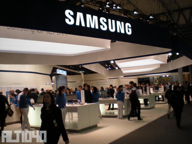 Stand de Samsung MWC 2013 - Lo mejor del MWC 2013