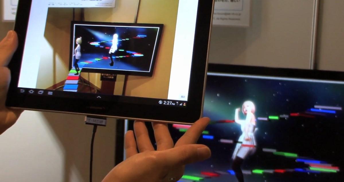 Visual SyncAR una interfaz de Realidad Aumentada para la TV