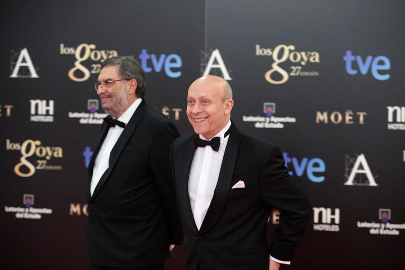 Ataque a la web de los Goya: González Macho y Wert en la alfombra roja