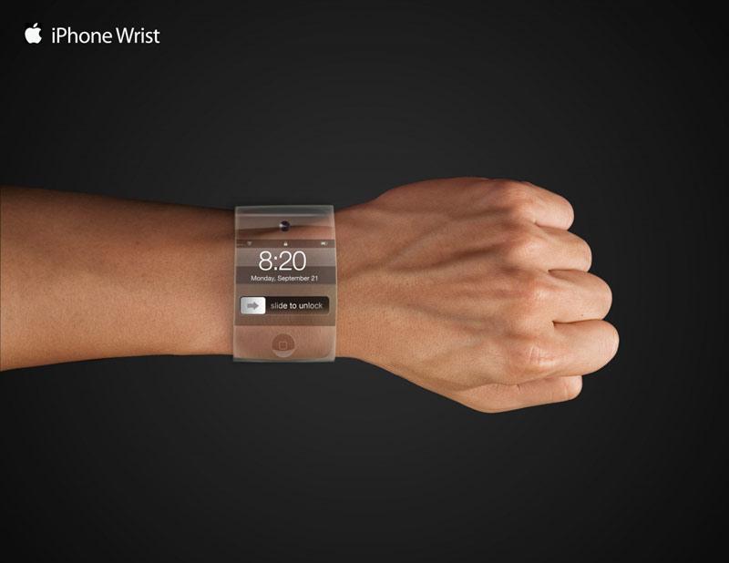 Recreación del reloj de Apple