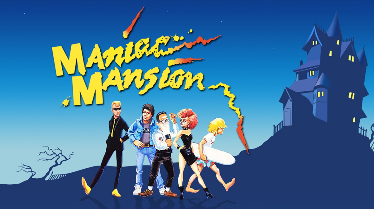 15 mil videojuegos para el acervo digital de la Universidad de Stanford Maniac Mansion