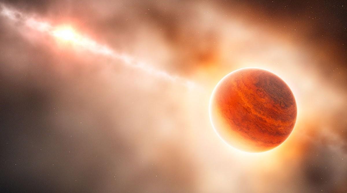 Astrónomos retratan por primera vez el nacimiento de un exoplaneta 2