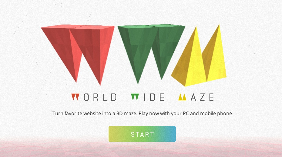 Chrome World Wide Maze