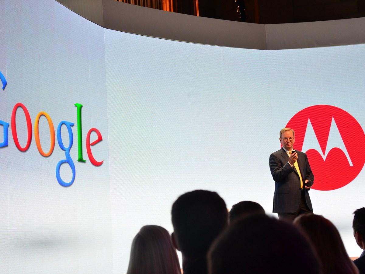 Google X Phone - Google y Motorola