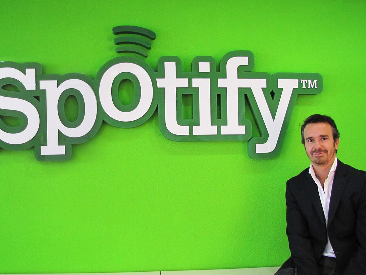 Javier Gayoso, Director de Spotify España