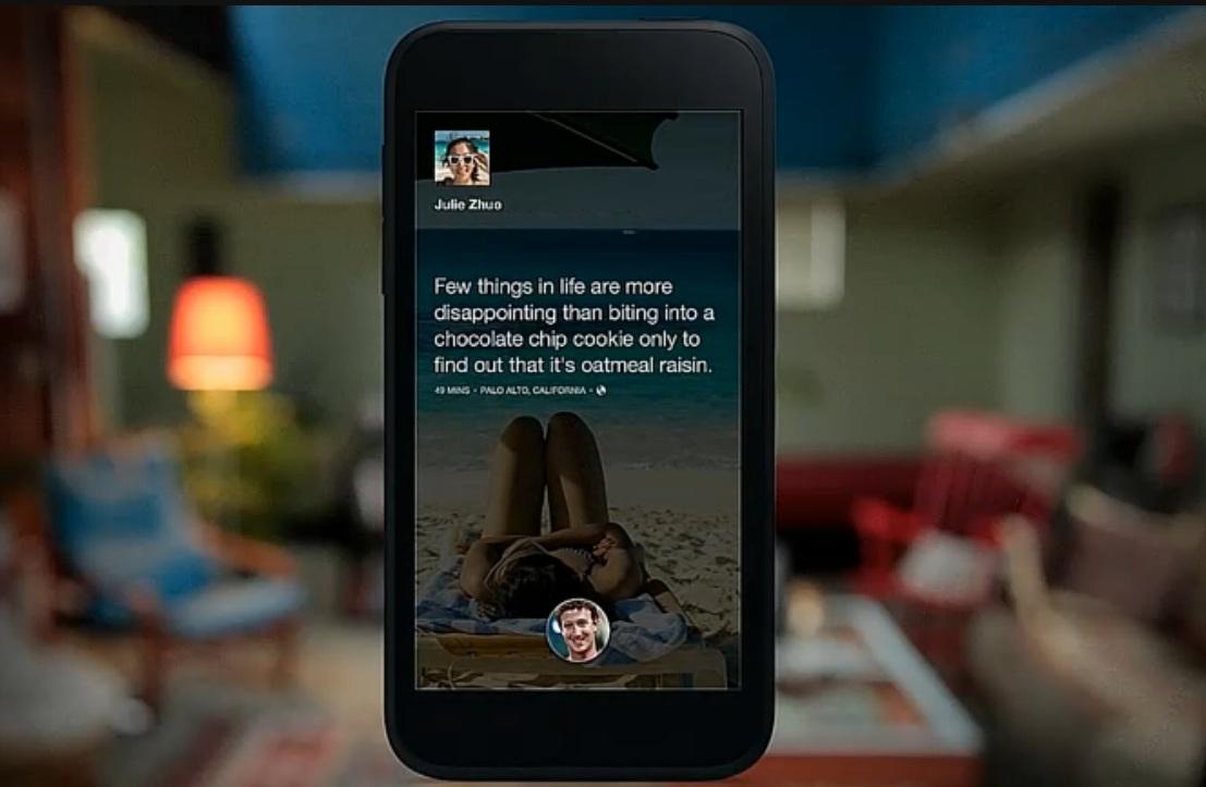 Facebook Home Screen 2