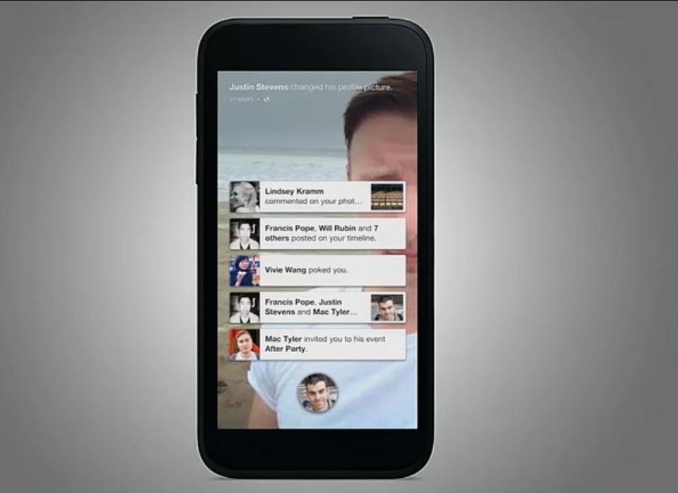 Facebook Home Screen 4