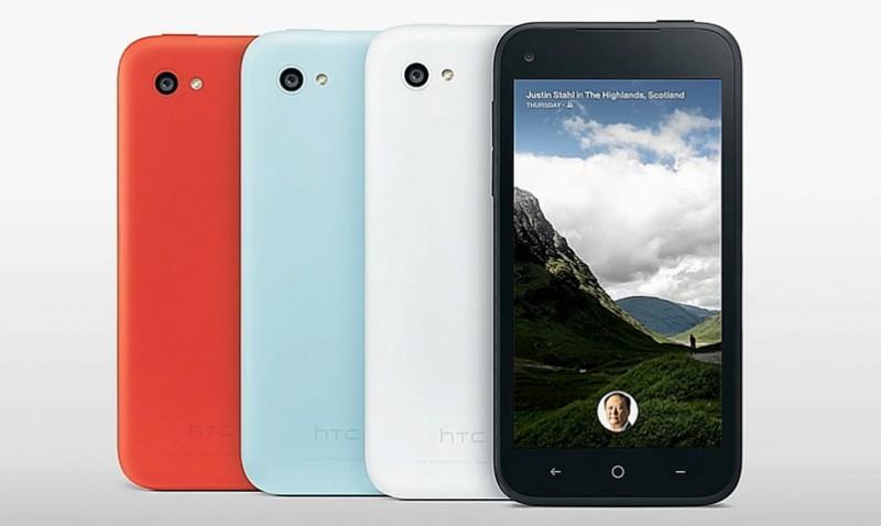 HTC First con Facebook Home integrado