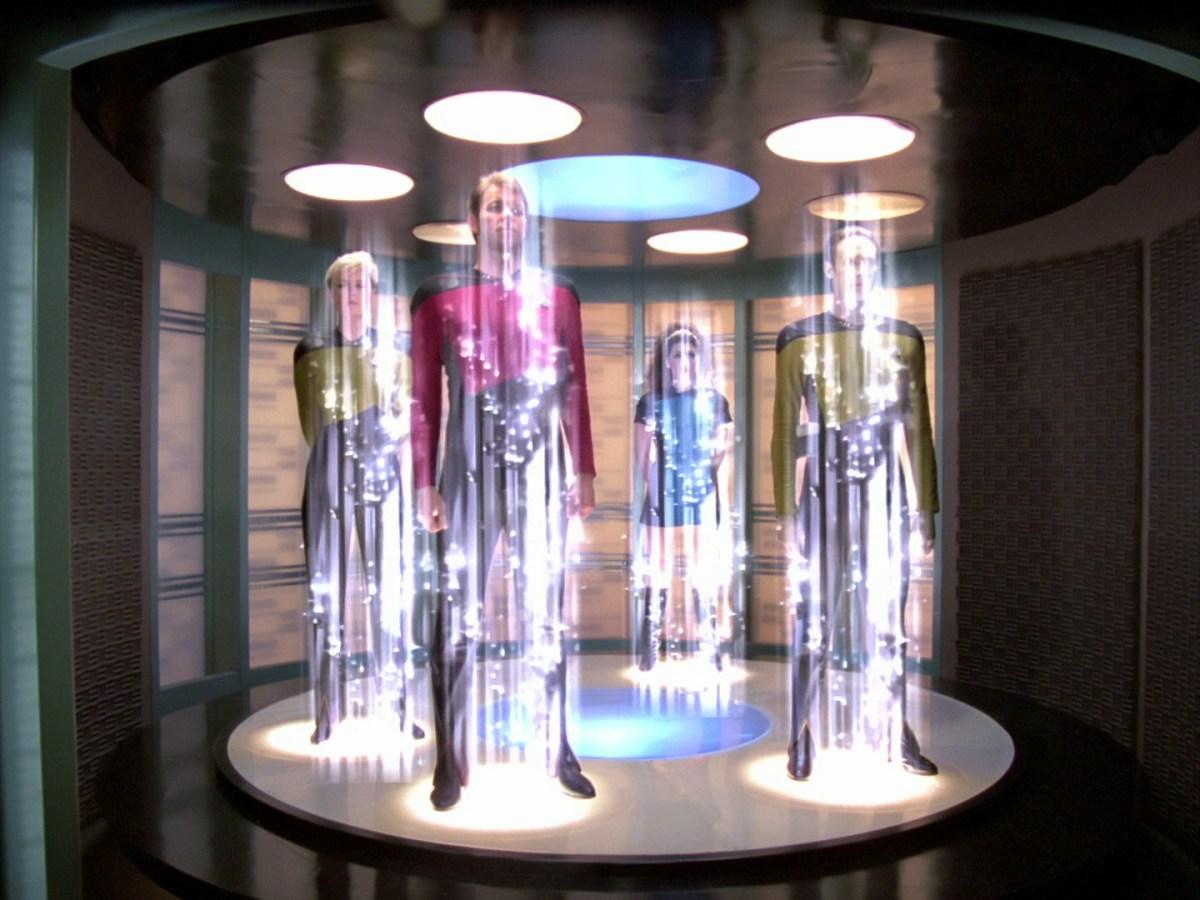 Transportador de Star Trek