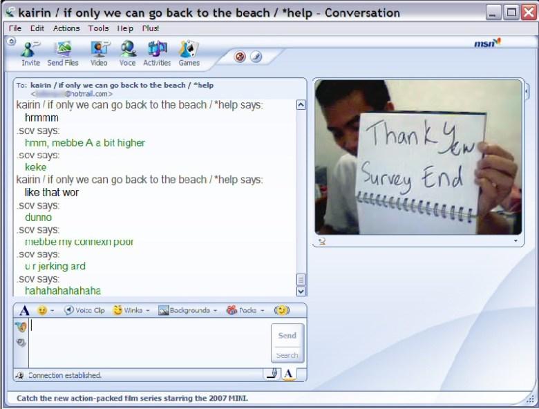Windows Messenger 2007 - evolución de messenger