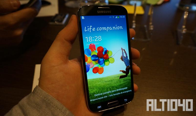 Primeras impresiones del Galaxy S4
