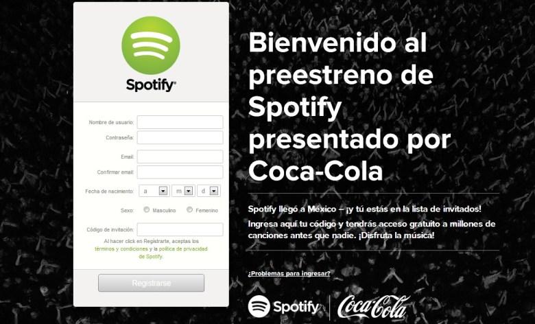 spotify ya disponible en mexico