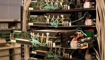 Computer history museum - Google Rack