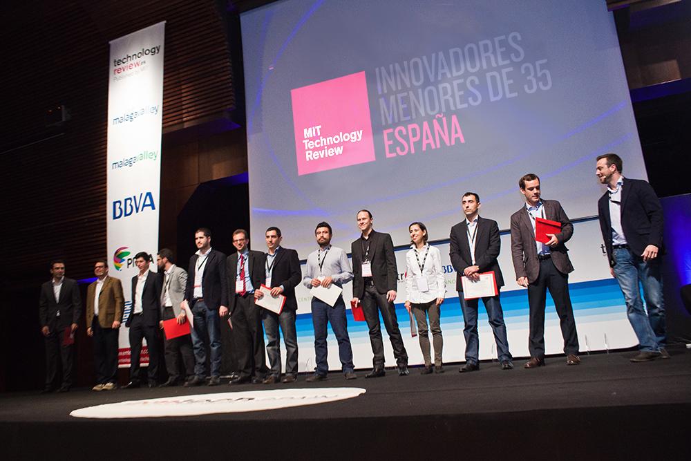 Ganadores 2012 de los Premios a innovadores menores de 35