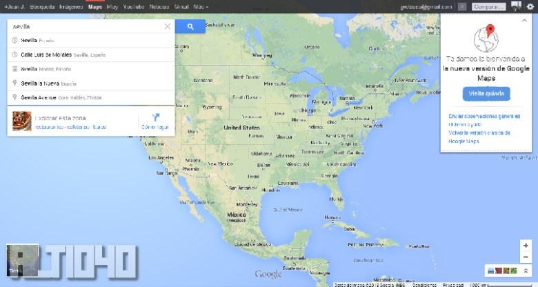 Google Maps (1)- Nuevo Google Maps, primeras impresiones