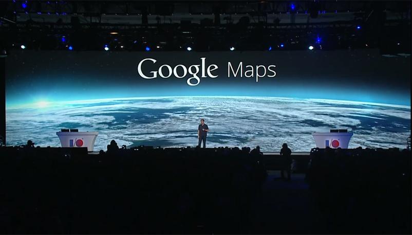 Google Maps en Google IO 2013