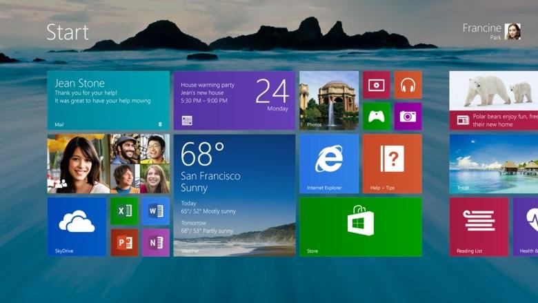 Pantalla de Inicio en Windows 8.1 (2) - Microsoft nos muestra las mejoras de Windows 8.1