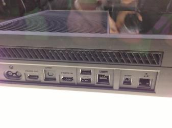 conexiones Xbox One