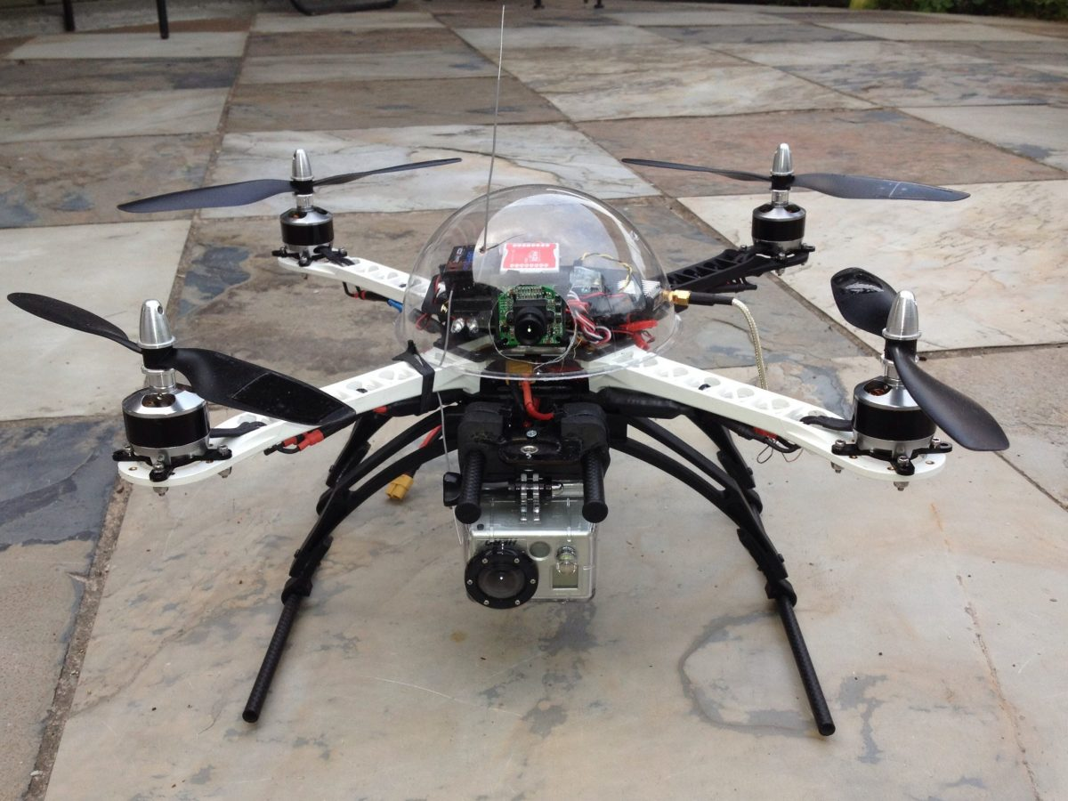 Drones contra grafitis