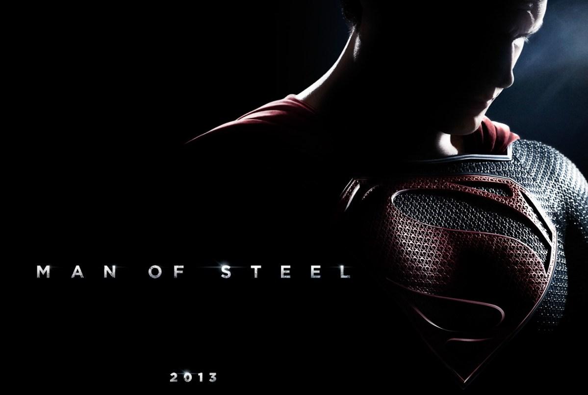 Impresiones de Man of Steel cartel