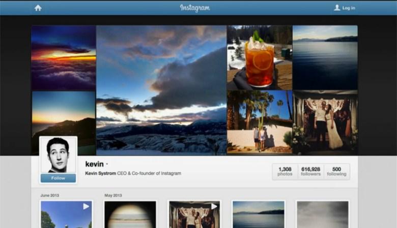 Video en instagram perfiles