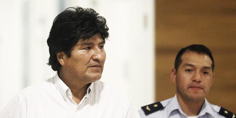 vuelo de Evo Morales