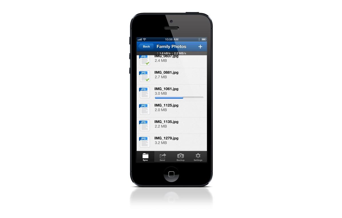 BitTorrent Sync para iOS