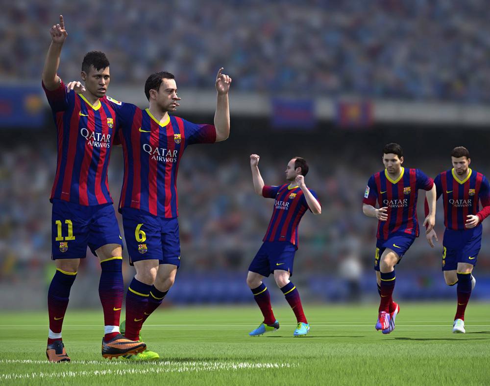 Xbox One y FIFA 14, unidos