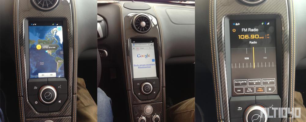 McLaren y Android