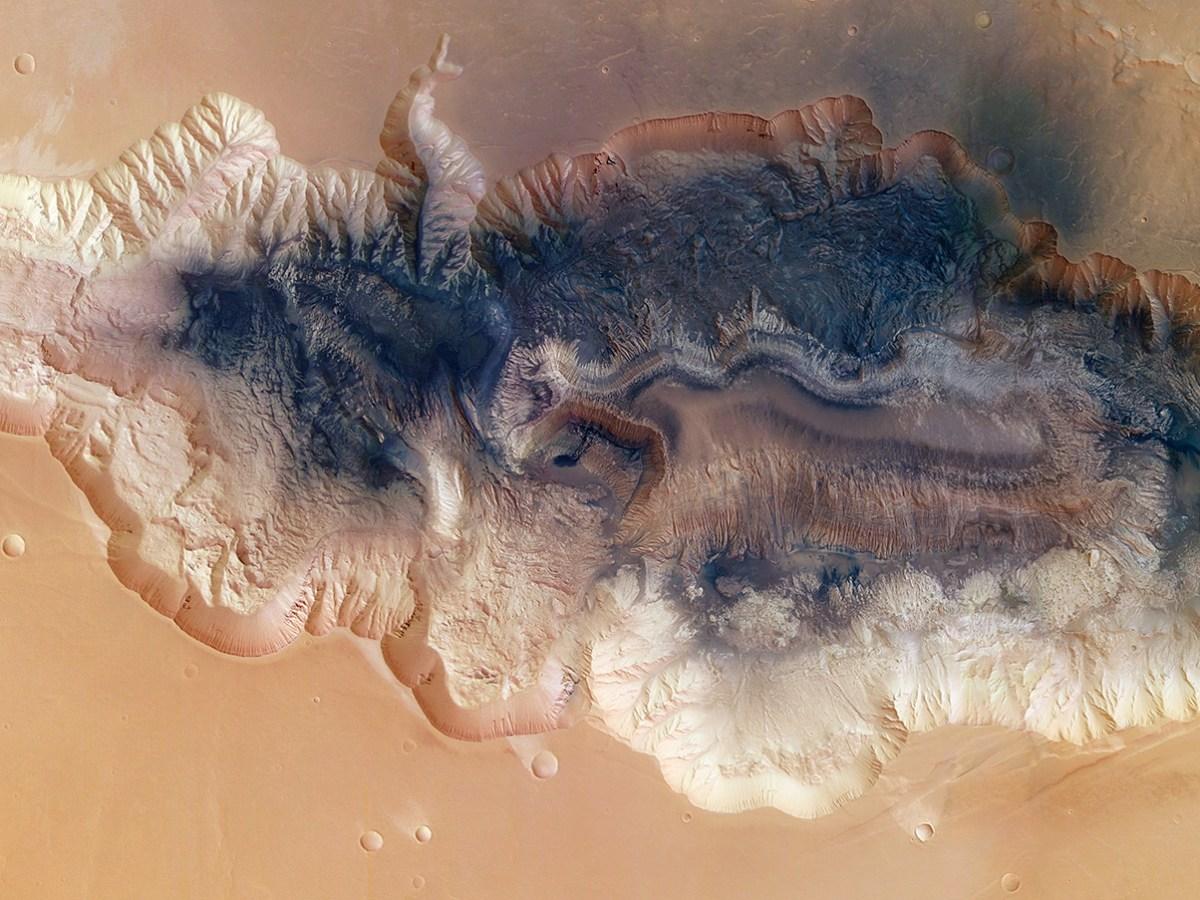 Cicatrices de Marte