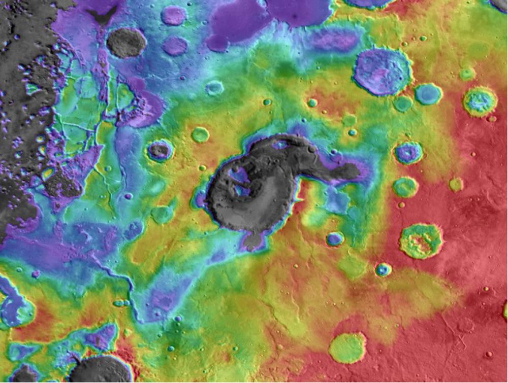 supervolcán de Marte