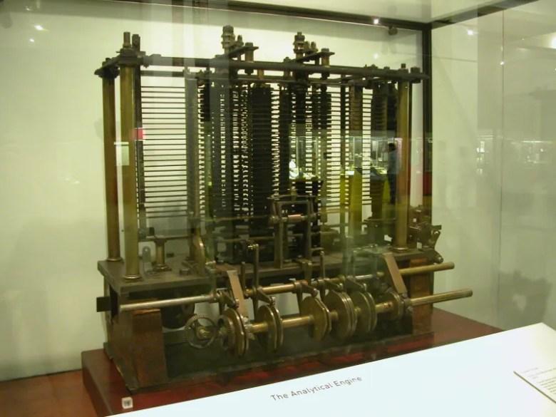 Maquina Analitica de Babbage - Ada Lovelace