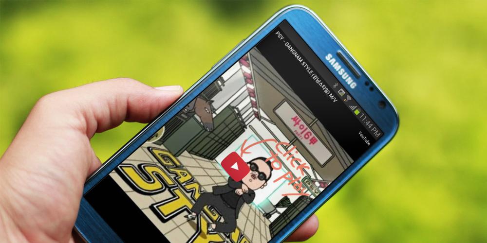 descargar vídeos de YouTube desde Android