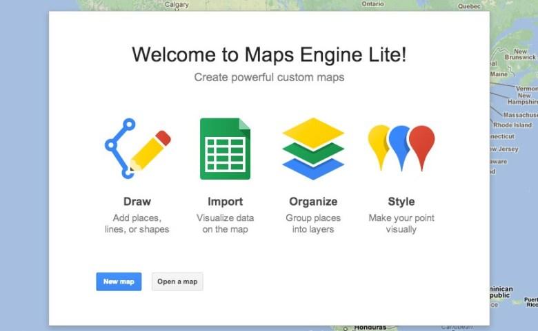 google maps engine web