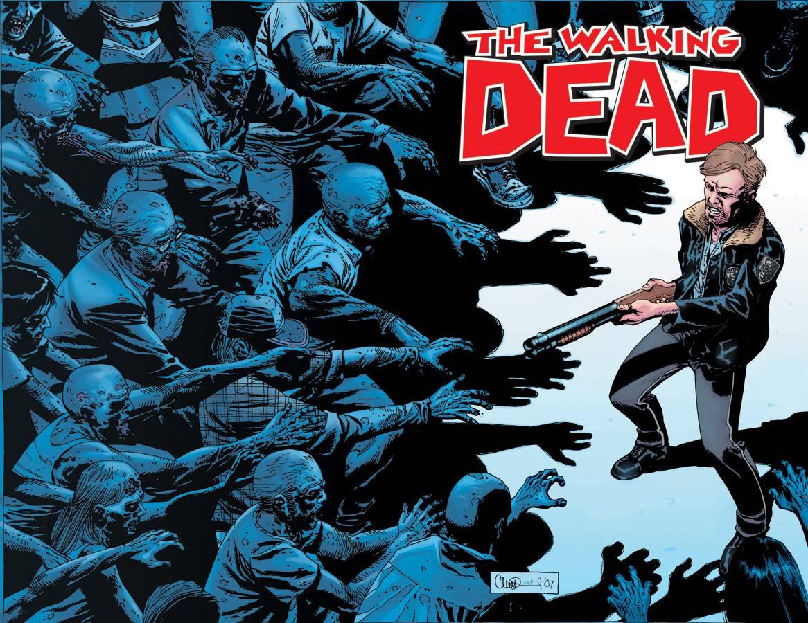 the walking dead comic books