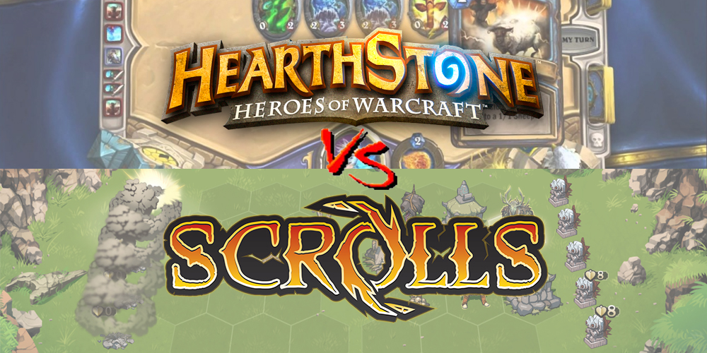 Scrolls vs Hearthstone