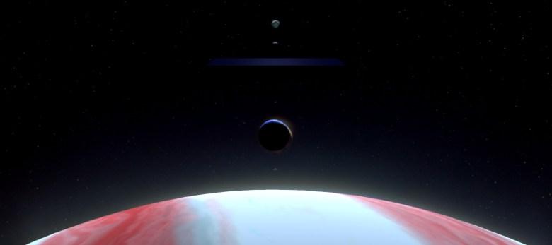 Jupiter Moons Monolith