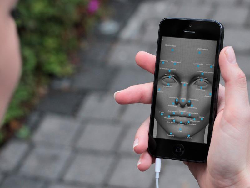 reconocimiento facial ios