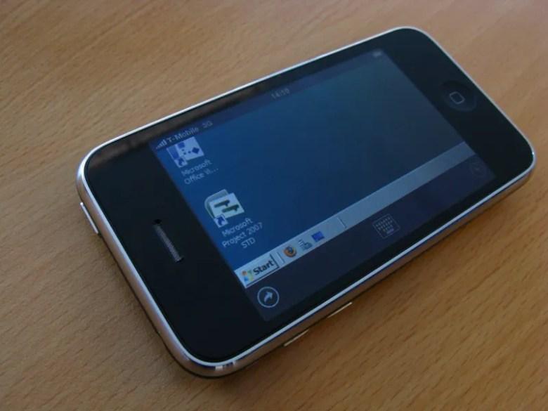 Fin de soporte de Windows XP - Escritorio virtual Citrix sobre iPhone
