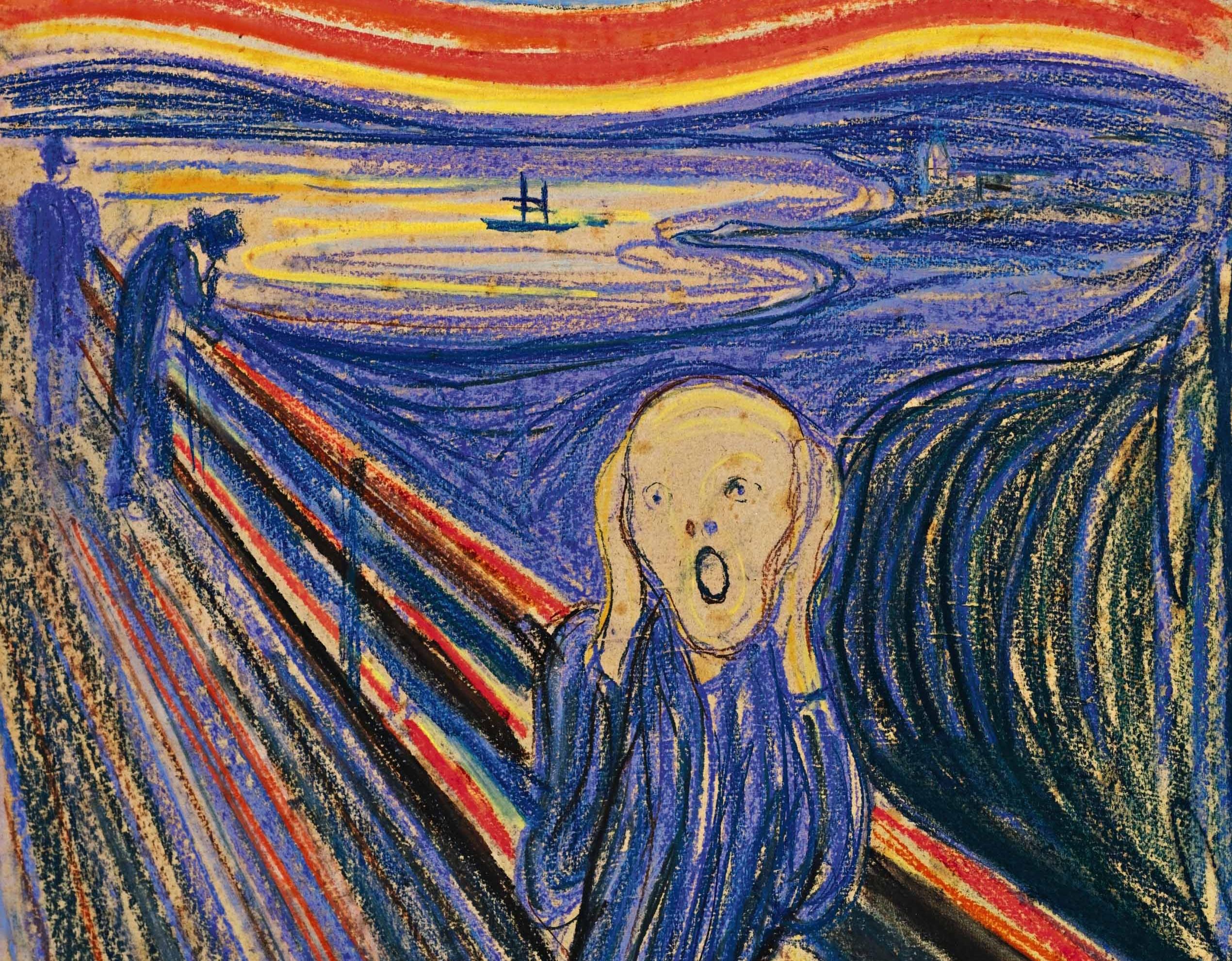 Revelan el origen del mensaje oculto en 'El Grito' de Munch
